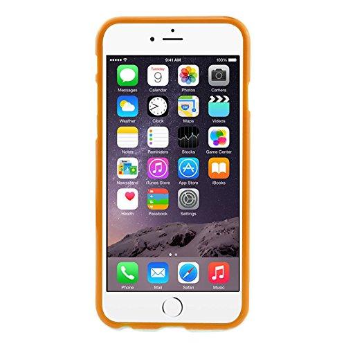 """Smart protectors finest! coque de protection en tPU pour apple iPhone 6 plus 5,5 """"blanc à pois orange"""
