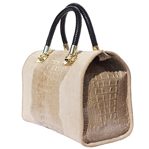 Taupe à Sac type anses Bowling