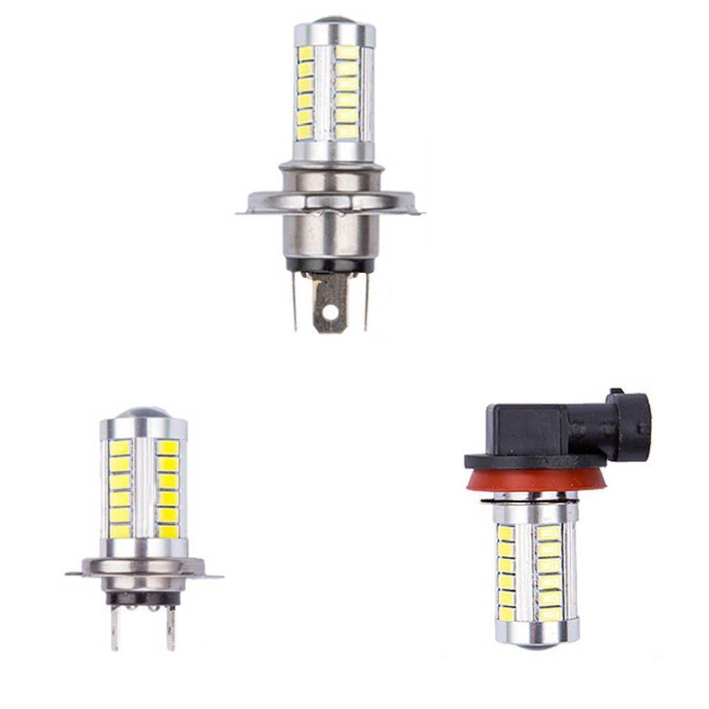 Busirde 1x H4 H7 H8 H11 luce LED 5630 33SMD luminosa eccellente della nebbia luce di azionamento DRL luce dellautomobile H4