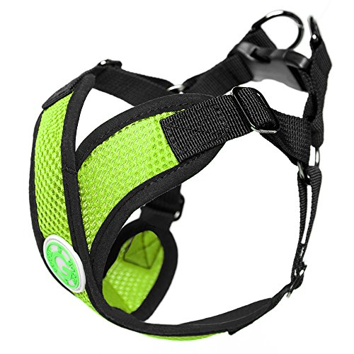 Picture of Gooby Choke Free Step-in Comfort Dog Harness, Green, X-Large