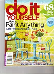 Do It Yourself Magazine Better Homes Gardens How To