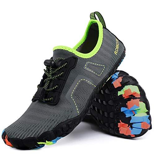 Water Shoes for Women Men Barefoot Quick Dry Shoes for Beach Swim Sports Aqua Shoes