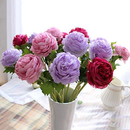 {Factory Direct Sale} 10 pcs Artificial Faux Silk Lotus Flower Floral Leaf Home Hotel Wedding Party Garden Decor DIY Decoration New