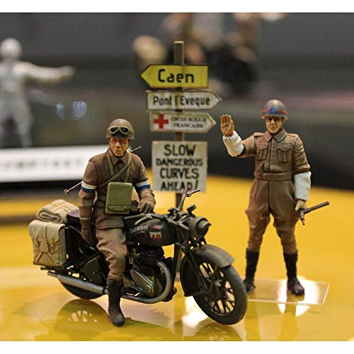 Part & Accessories Tamiya 35316 1/35 Scale British BSA M20 Motorcycle w/Military Police Set RC toy