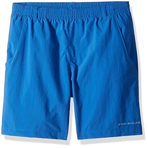 Columbia Boys Backcast Boys Short, Vivid Blue, X-Large by Columbia