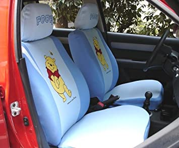 Winnie The Pooh Universal Car Seat Cover