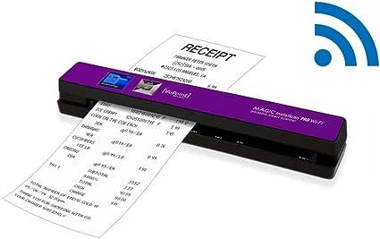 Amazon Com Vupoint Solutions Magic Instascan Pro Wi Fi Portable Smart Scanner Purple Pdswf St48pu Vp Electronics