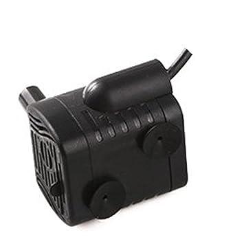 3W USB Mini Bomba de Agua Sumergibles,DC3.5V-9V,3W,200L/H,Bomba de Agua,Para acuario, estanque, tanque de peces, hidroponía o cualquier cable de ...