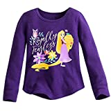 Disney Rapunzel Thermal Tee for Girls - Tangled: The Series Purple