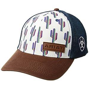 ARIAT Womens Multi Cactus Snapback Cap