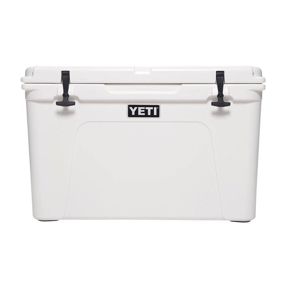 White YETI Tundra 105 Cooler