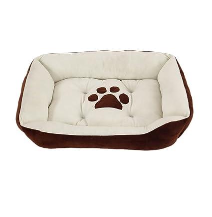Cama ortopédica para perro, cama para perros, gatos, sofá cama de felpa corta