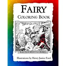 Fairy Coloring Book: Art Nouveau Illustrations by Henry Justice Ford