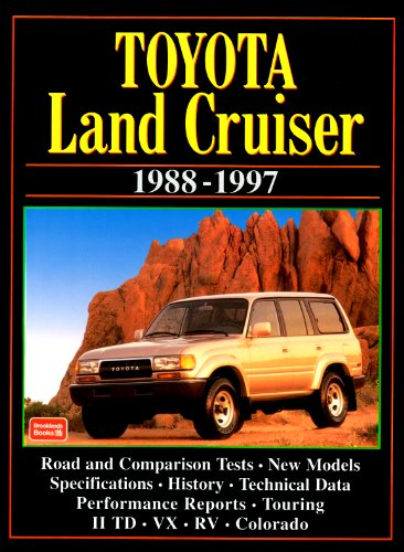 Toyota Land Cruiser: 1988-1997 (Brooklands Road Tests S)