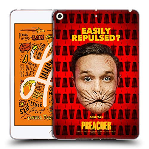 Official Preacher A Face Season 3 Character Art Soft Gel Case Compatible for iPad Mini (2019)