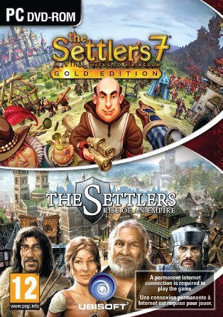 The Settlers 7: Gold Edition & The Settlers: Rise of an Empire - Double Pack [PC Computer DVD-ROM]