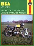 BSA Unit Singles Owners Workshop Manual, No. 127: '58-'72
