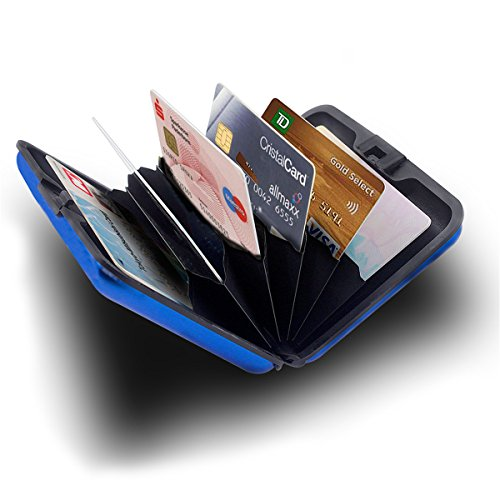 Peres Aluminum Wallet Credit Protection