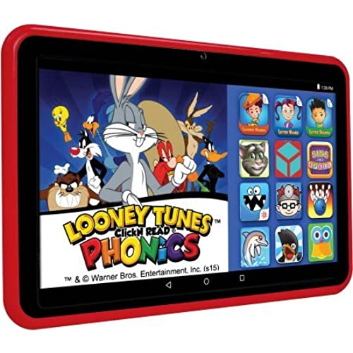EPIK Learning Tab 7 Kids Tablet 16GB Intel Atom Z3735G Quad-Core Processor, Red / 1.2GHz Intel Quad-Core processor/ 1GB DDR2 of Coupons