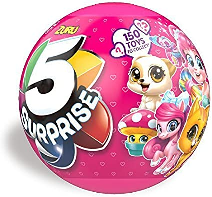 5 Surprise Eggs With Double Face Pencil Top And Candy Inside! LOL DOLL Surprise