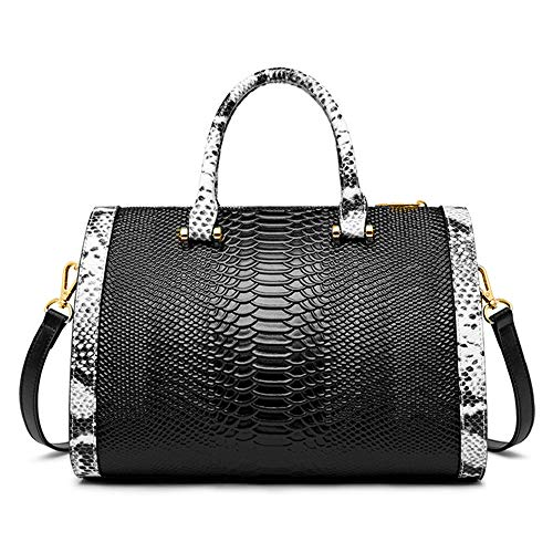 Boston Bag Black Handbag - 5