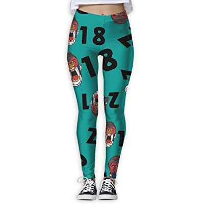 2018-soccer-fans-Serbia Women Printed Design Leggings Activewear Lightweight Legging Yoga Pants