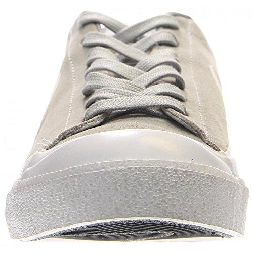 Nike Zoom All Court CK Zapatillas de skateboarding, Hombre Gris / Blanco (Wolf Grey / White)