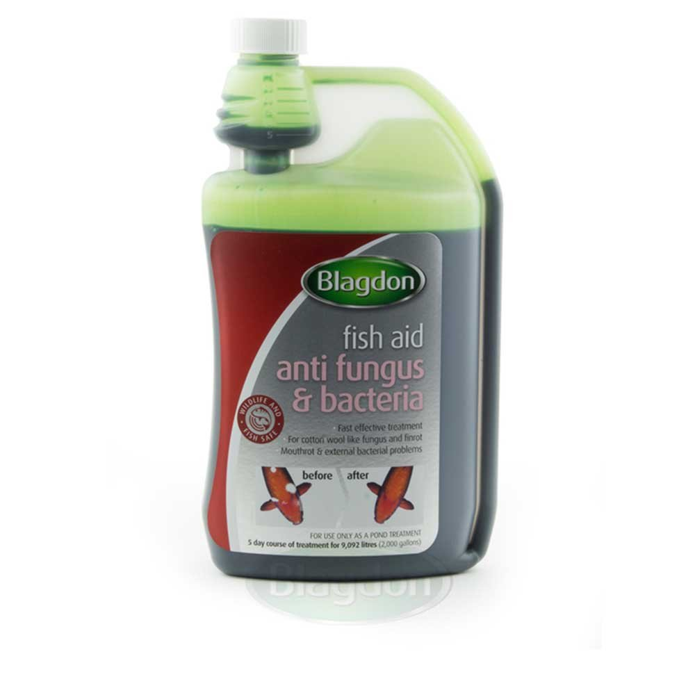Blagdon Anti-Fungus and Bacteria for Pond Fish, 500 ml Interpet 2690