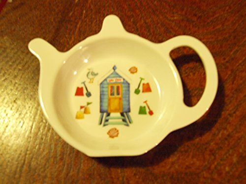 Beach Time Design Melamine Tea Bag Holder. LP91130 (Design Might be Different From Picture) ()