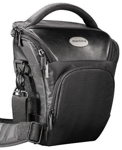 Pro NOVO SLR Kompakte Kameratasche Colttasche Schwarz (Mit Beckengurt, Gurttunnel) Fuer Die Kameramodelle, Zum Beispiel, Siehe Produktdetails