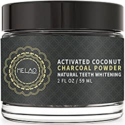 2018 Best Shop_Teeth Whitening Charcoal Powder with Coconut Activated Charcoal Powder-Melao