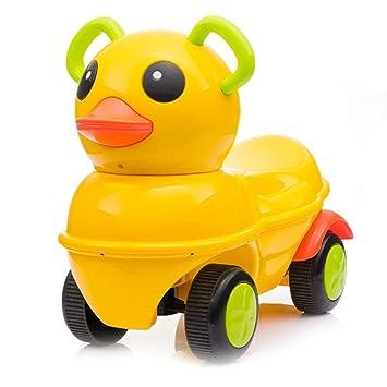 Amazon.com: Pedal Cars - Patinete infantil con ruedas ...