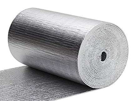 Thermal Aluminum Foil Foam Insulation 2 Ft X 50 Ft Roll Commercial Grade Radiant Barrier Garage Door Insulation Kit Weatherproofing Roofs Attics Windows Rv S Soundproofing Noise Insulation Amazon Co Uk Business Industry Science