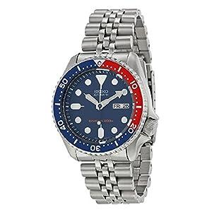 Seiko Men's SKX009K2 Diver's Automatic Blue Dial Watch by Seiko