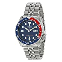 Seiko Men's SKX009K2 Diver's Analog Japanees Automatic Stainless Steel Watch