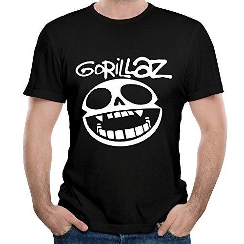Gorillaz Clint Eastwood Masculinity Tops Custom Shirts Cozy O-neck T Shirts (Clint Eastwood Costumes)