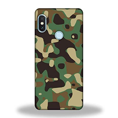 23557a9eb PRINTASTIC Redmi Note 6 Pro Army Camouflage Back Case  Amazon.in   Electronics