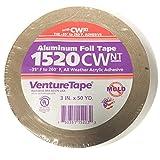 Venture Tape 3'' 2 MIL Aluminum Tape (16 rolls per case)