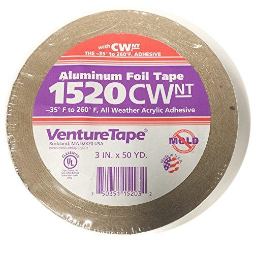 """Venture Tape 3"""" 2 MIL Aluminum Tape"""