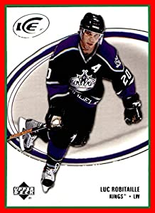 2005-06 Upper Deck Ice #45 Luc Robitaille LOS ANGELES KINGS