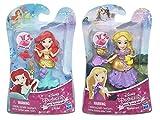 Set of 2: Disney Princess Little Kingdom Classic Dolls Ariel & Rapunzel