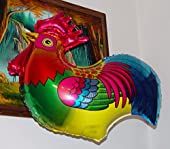 "ROOSTER 27"" ANTI-GRAVITY FLOATING TOY - Amazing STRING-LESS HOVERING ZERO-G Balloon, Flying Bird Zoo Barnyard Chicken Farm Animal Kingdom Birthday Party Favor"