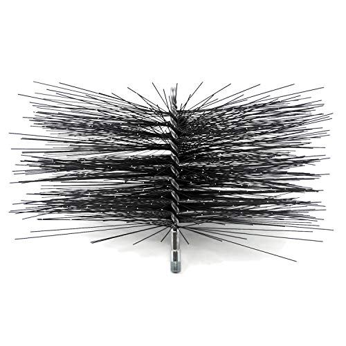 12 Inch Chimney - Midwest Hearth Square Wire Chimney Cleaning Brush (12-Inch Square)