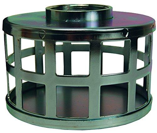 Dixon SHS80 NPSM Square Hole Strainer, 8'' ID, Zinc Plated Steel by Dixon Valve & Coupling