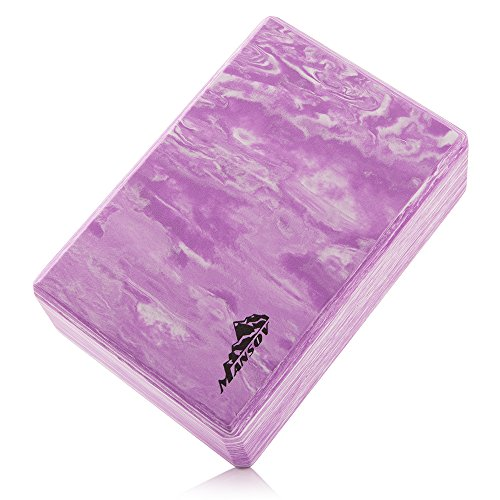 Mansov Yoga Block, Exercise Block (Type Two: Violet)