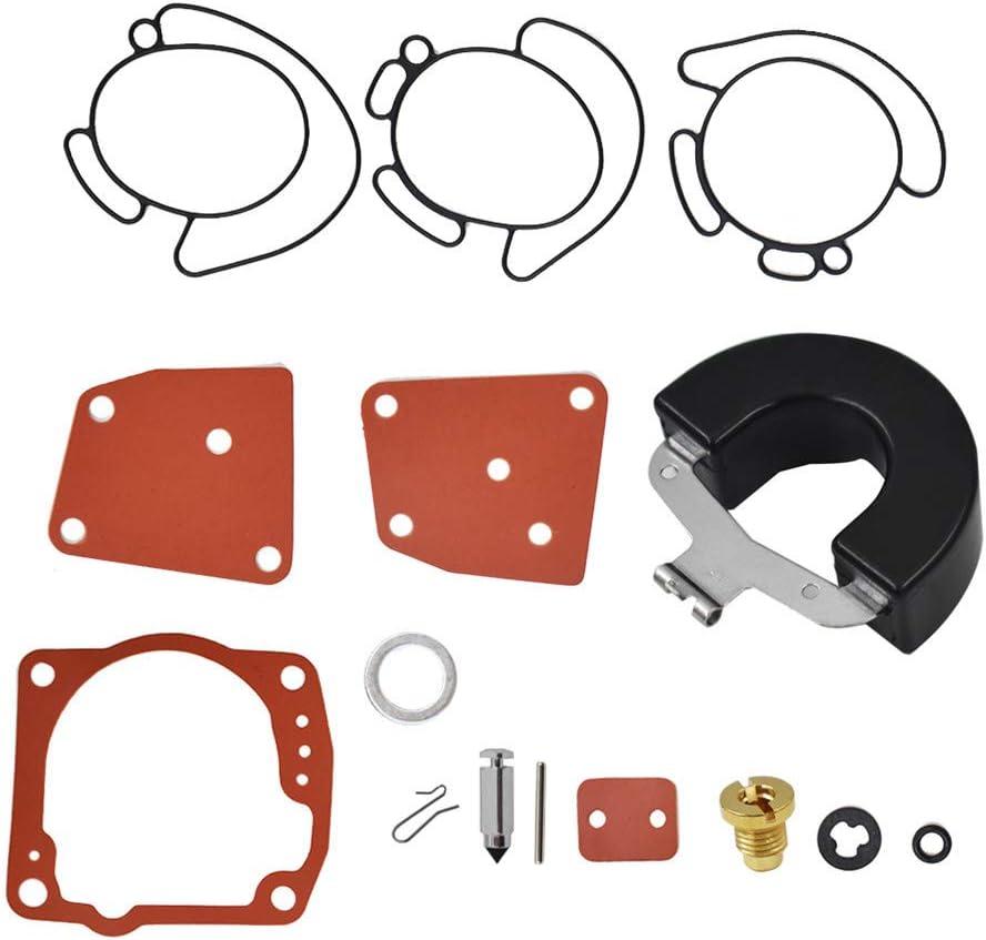 Carb Carburetor Repair Rebuild Kit Fits For Johnson Evinrude V4 V6 90 115 125 150 175 HP 438996 18-7247