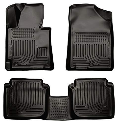 Husky Liners Fits 2011-13 Hyundai Elantra GLS/Limited Sedan Weatherbeater Front & 2nd Seat Floor Mats