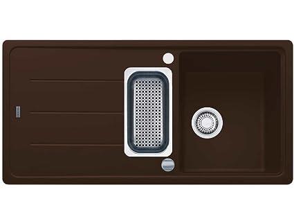 Franke Basis BFG 651 Chocolate Lavabo in granito Marrone Lavello ...