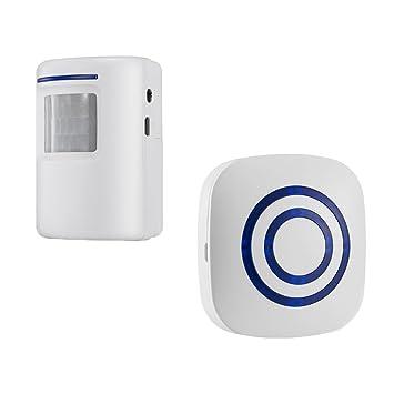 C2K Wireless Home Security Driveway Alarm Entry Alert Visitor Door on