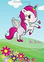 Mes Dessins: A4 - 100 Pages De Papier Vierge -